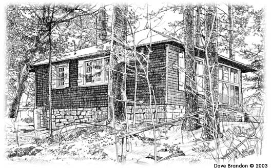 James Taylor Dunn Pine Needles Cabin along the St. Croix River
