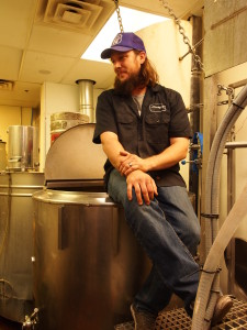 Brewer Jonathan Buford explains the Wilderness Brewing process.
