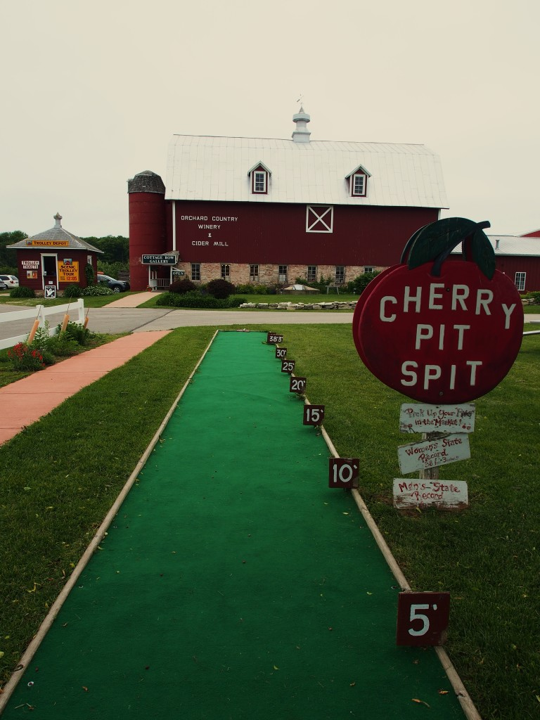 'Cherry Pit Spit' at Orchard Country Winery & Farm Market