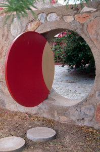 Mrs. Wright's Moon Gate