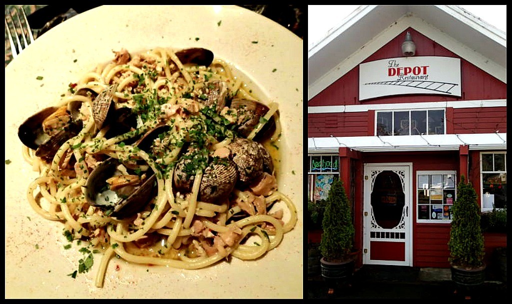 Depot clams collage
